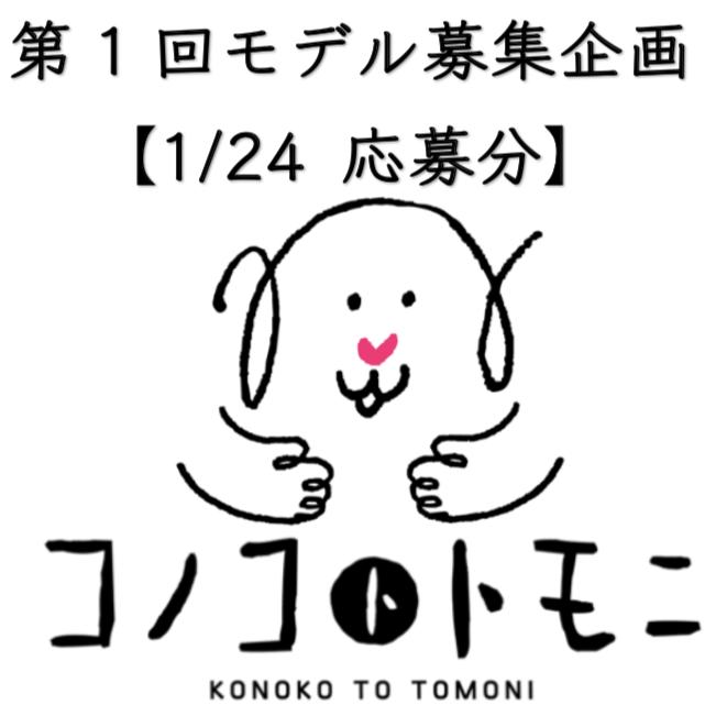 【モデル募集】我が家のコノコ大公開①【2019/1/24応募分】